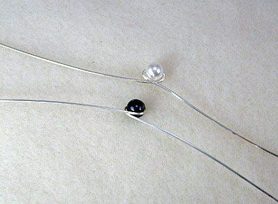 Wire wrap žiedas