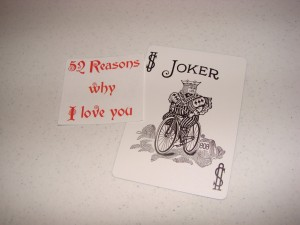 52 priežastys, kodėl Tave myliu