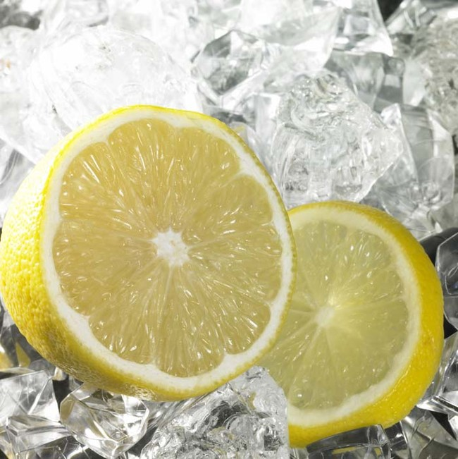 užšaldyti citriną