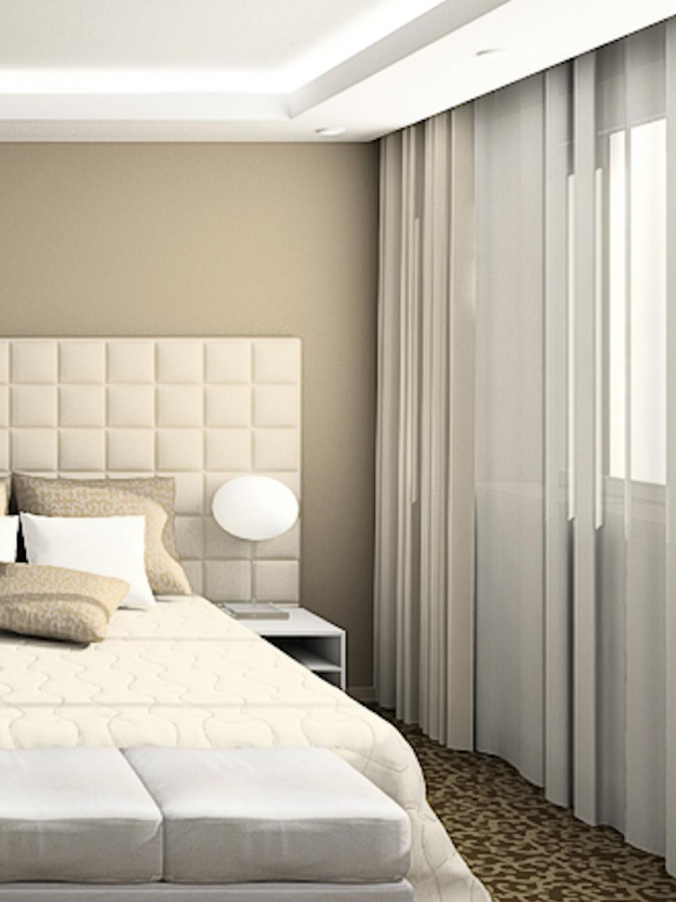 White Curtains Bedroom Blackout