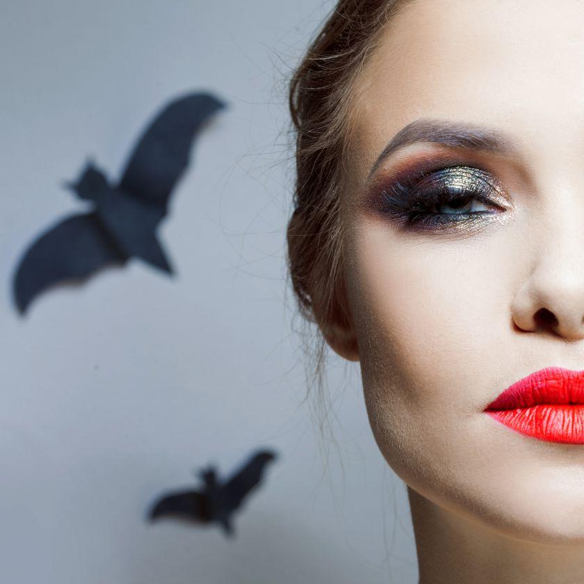 Vizažistė pataria: 5 žingsniai, kaip neperkant naujų priemonių susikurti tobulą Helovino makiažą