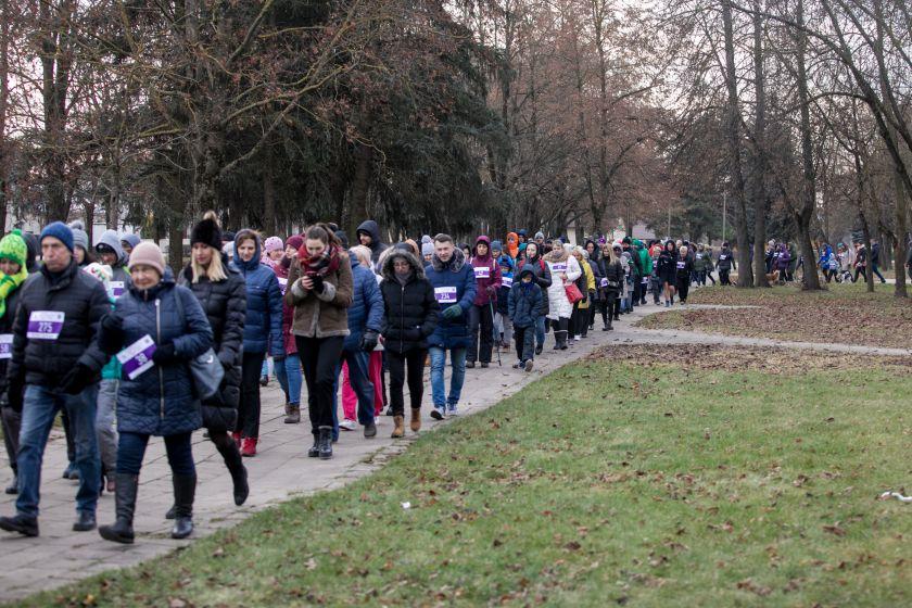 Ėjimas Panevėžyje suvienijo šimtus diabetui neabejingų žmonių