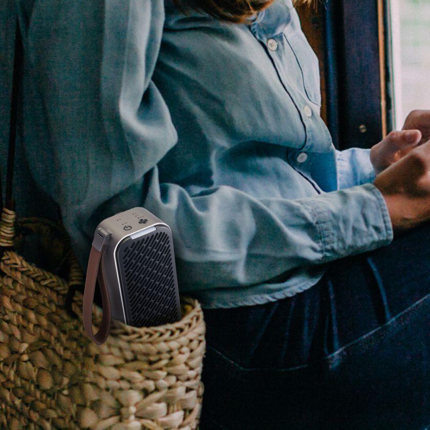 """""""LG"""" pristato galingą kilnojamąjį oro valytuvą – gyventi bus ramiau"""