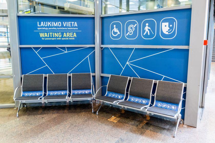 Specialiųjų poreikių keleiviai: Kauno oro uoste pagalba suteikta trečdaliu dažniau