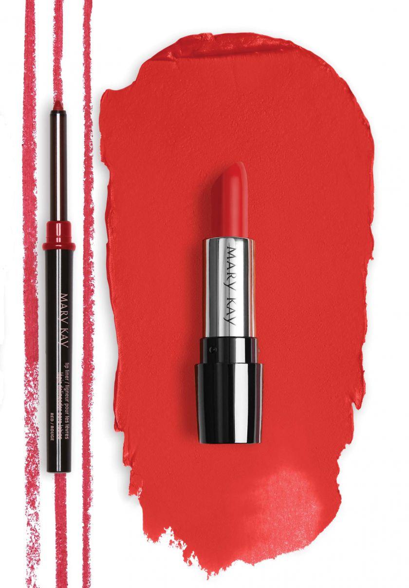 Raudonas lūpdažis – klaidos, kurias daro dažna