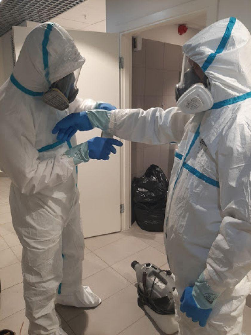 """""""Dezinfa"""": kaip vykdoma viruso židinių dezinfekcija"""