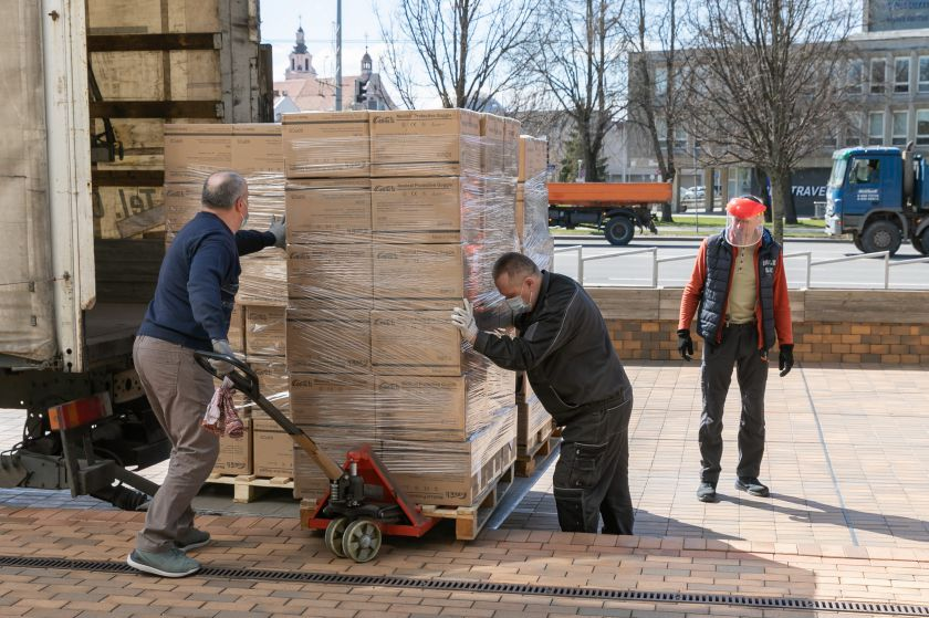 Į medikų apsaugos priemones Vilnius investavo 10 mln. Eur