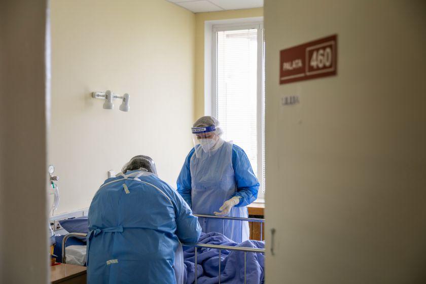 Sostinės pagalba COVID-19 pandemijos valdymui: 130 papildomų lovų ir 100 tūkst. eurų savivaldybės lėšų