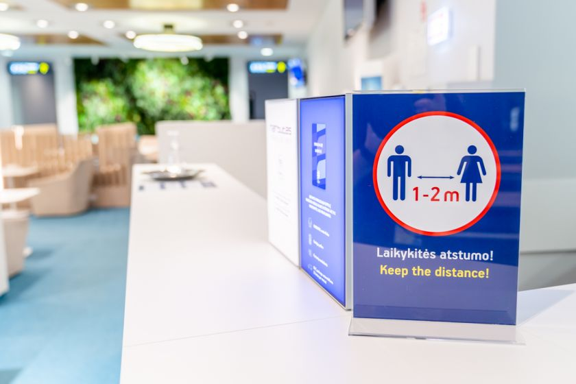 Laukti skrydžio patogiau: verslo klubas Vilniaus oro uoste atnaujina veiklą