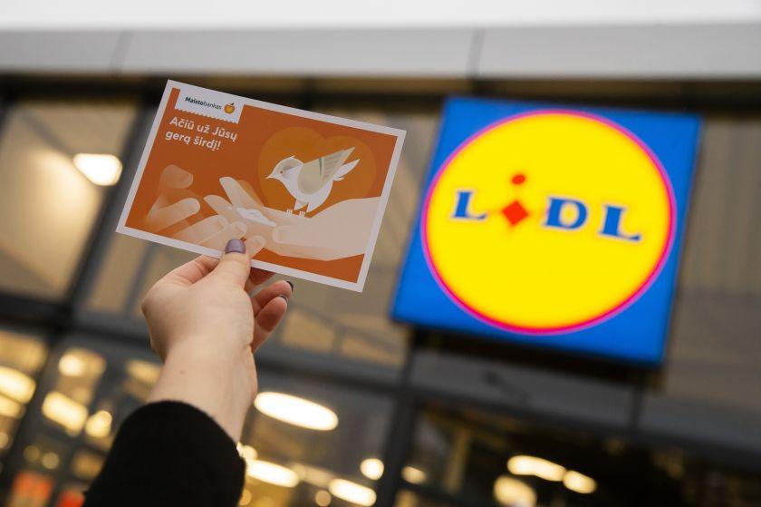"""Prie """"Maisto banko"""" akcijos jungiasi rekordinis skaičius """"Lidl"""" parduotuvių: tikisi aktyvaus pirkėjų indėlio"""